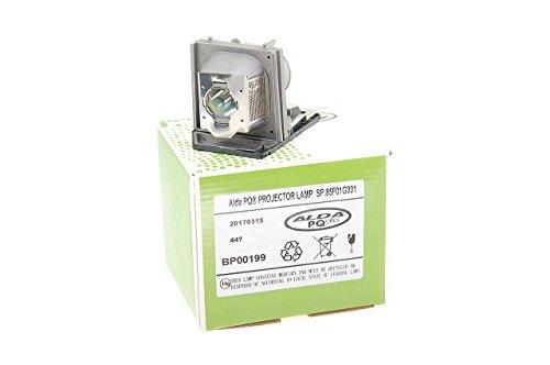 Alda PQ-Premium, beamerlamp/reservelamp voor OPTOMA EP1690 projectoren, lamp met behuizing
