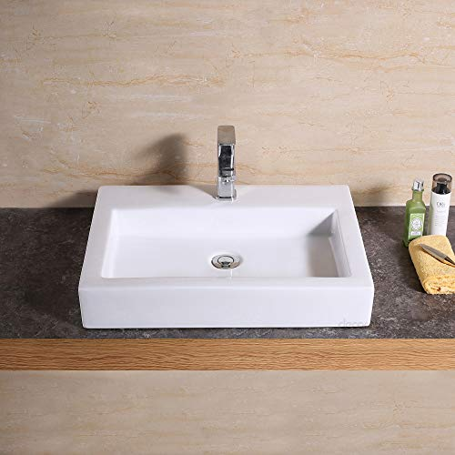 Decor Star CB-021 Bathroom Porcelain Ceramic Vessel Vanity Sink Art Basin