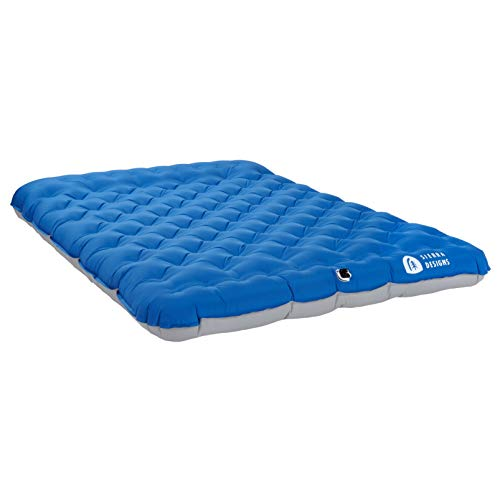Sierra Designs 2 Person Queen Camping Air Bed Mattress for Car Camping, Travel, and Camp (Pump...