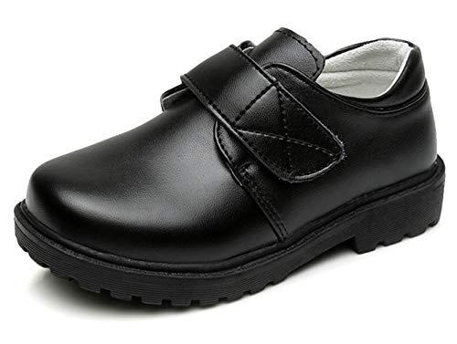 EOZY Festliche Kinder Anzug Schuhe Schnürhalbschuhe Lederschuhe Halbschuhe School Uniform Schuhe 27 Design-1
