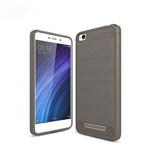 WindTeco Xiaomi Redmi 4A Hülle - Premium Ultra Slim Leicht weiches TPU Protector Phone Case Handy Schutzhülle Schale Bumper für Xiaomi Redmi 4A