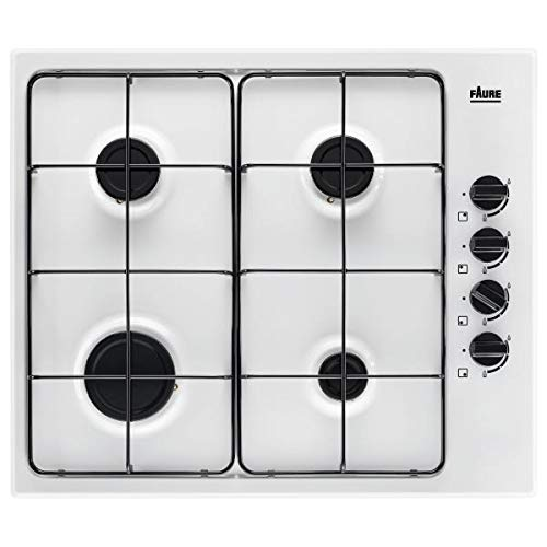 Plaque gaz Faure FGH62414WA - Plaque de cuisson 4 foyers