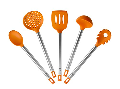 Bra Efficient - Set de 5 utensilios de cocina