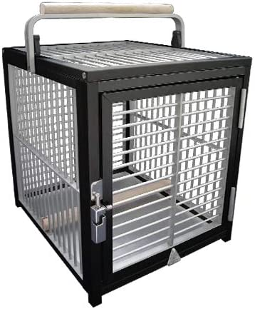 SEAL limited product King's Cages ATT 1214 Aluminum We OFFer at cheap prices Parrot Cage Bird pet Carri Travel