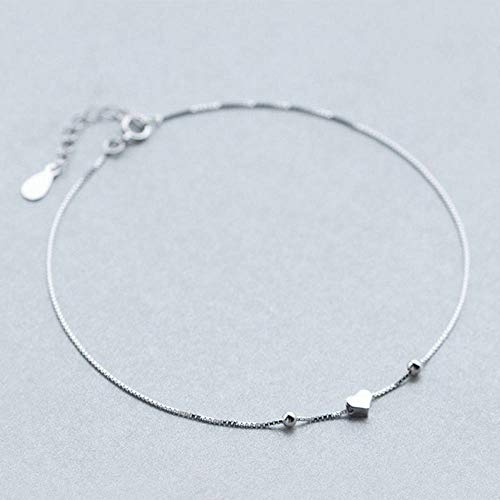 BENGKUI Women'S 925 Sterling Silver Bracelet,Fashion Women'S Jewelry Hollow Heart Bracelet 15.5Cm For Gift Girl Lady Charm Bracelets Jewellery For Women Birthday Gifts For Mum Wife