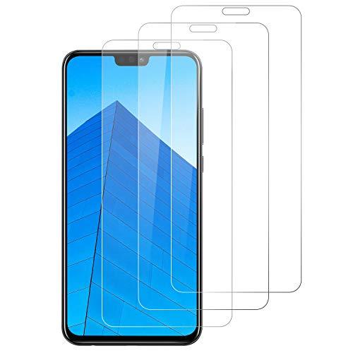 DOSNTO 3-Unidades Protector de Pantalla para Huawei Honor 8X Cristal Templado, [9H Dureza] [Resistente a Arañazos] [Kit Fácil de Instalar] Vidrio Templado Screen Protector para Huawei Honor 8X