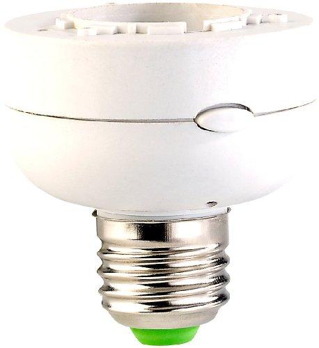 CASAcontrol Funklampenfassung: Funk-Lampenfassung E27 (Lampenfassung mit Fernbedienung)