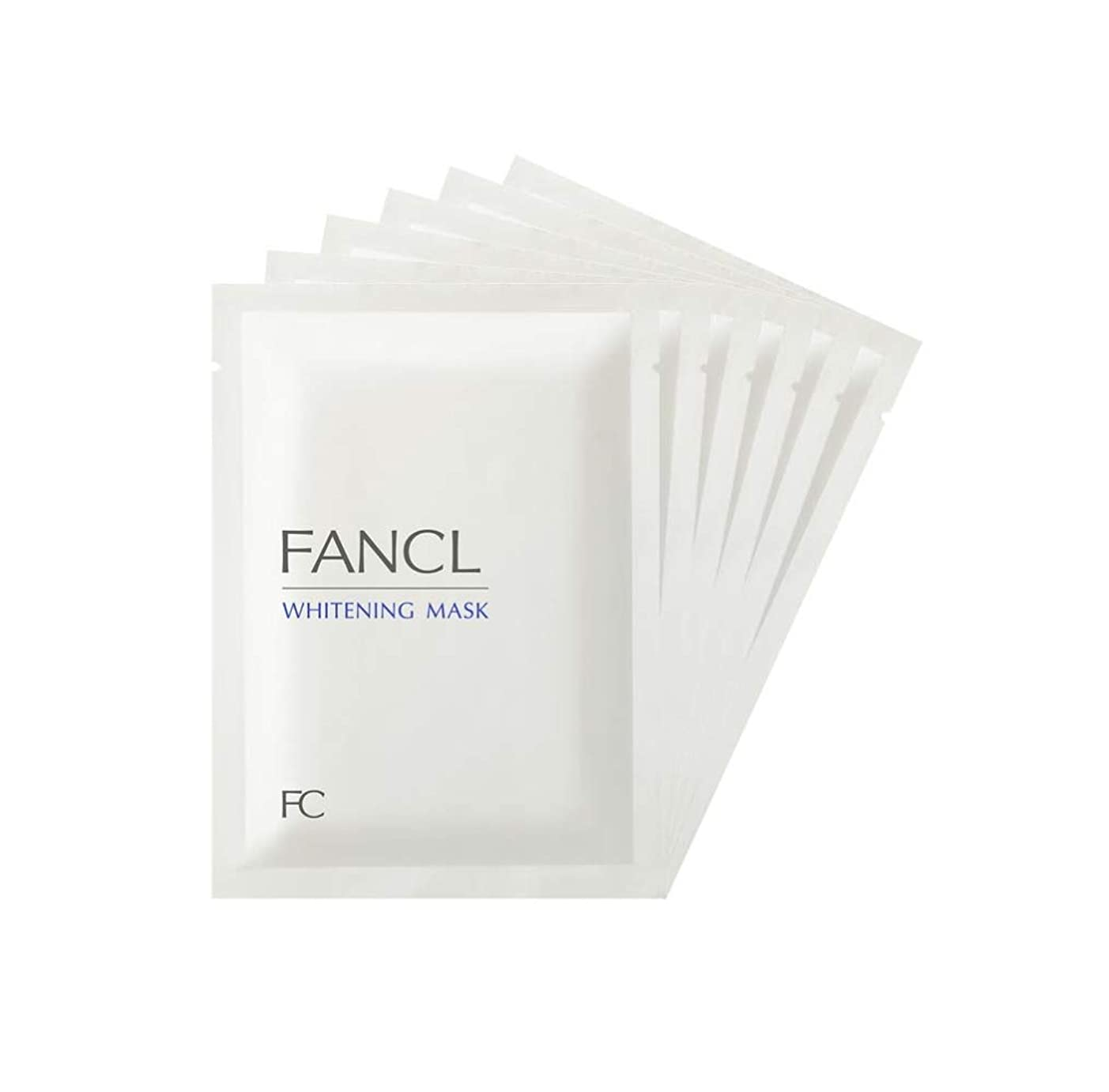 自分自身賢明な信号新ファンケル(FANCL) ホワイトニング マスク<医薬部外品> 21mL×6枚