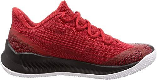 adidas Harden B/e X, Scarpe da Basket Uomo, Nero Cblack/Ftwwht/Scarle, 40 EU