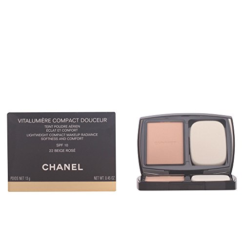 Chanel Vitalumiere Kompakt mild 22 - beige rosa 13 g - Damen, 1er Pack (1 x 1 Stück)