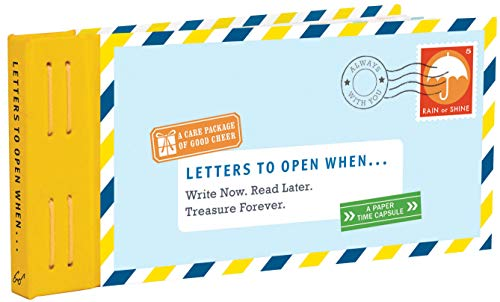 Letters to Open When...: Write Now. Read Later. Treasure Forever. (Letters to My)