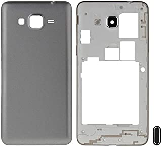 Battery cover Jrc Full Housing Cover (Middle Frame Bezel + Battery Back Cover) + Home Button for Galaxy Grand Prime / G530...