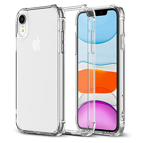 Krichit Phone Protective Case, Clear Series Case Compatible with iPhone XR