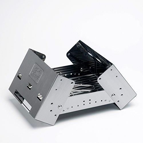 41S0HaTMxZL - Esbit Klappbarer Koffergrill BBQ-Box