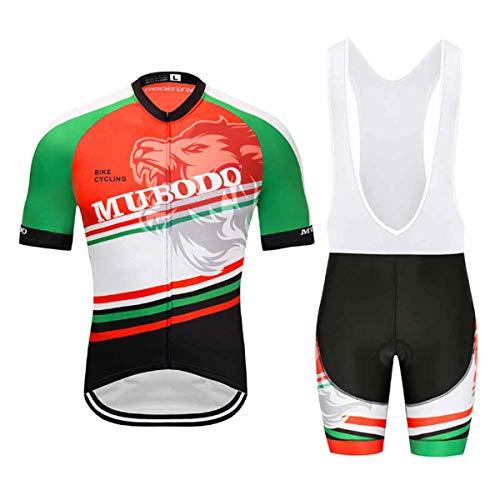 Yudong 2 Piezas Hombres Mujer Ropa Conjunto Traje Equipacion Ciclismo Hombre Verano...