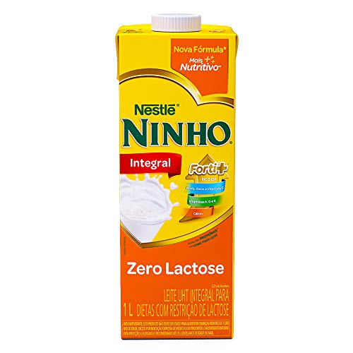 Leite Integral Ninho Zero Lactose 1L