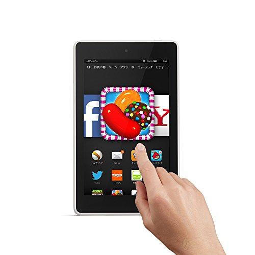 Fire HD 6タブレット 8GB、ホワイト