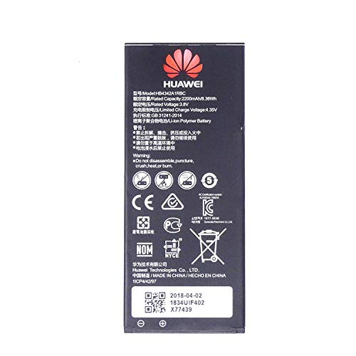 Batteria Originale per Huawei Ascend Y6 Honor4A Y5II 2200 mah in Bulk
