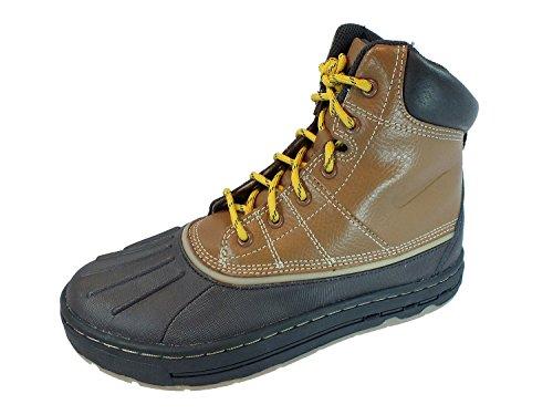 Nike Woodside (GS) ACG Big Kids Boots [415077-200] British Tan/British Tan-Gold Boys Shoes 415077-200-6