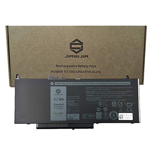 JIAZIJIA R0TMP Laptop Battery Compatible with Dell Latitude 5450 5550 E5450 E5550 Series Notebook G5M10 RYXXH ENP575577A1 WTG3T ROTMP Black 7.6V 62Wh 8260mAh 4-Cell