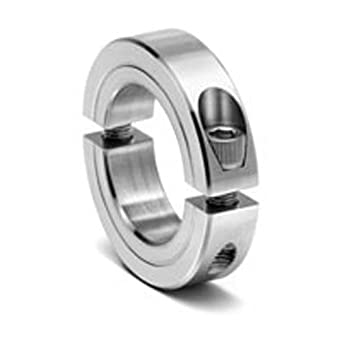 11//16 Width 3 OD Steel Climax Metal 2C-193-Z Two-Piece Clamping Collar 1-15//16 Bore Zinc Plating