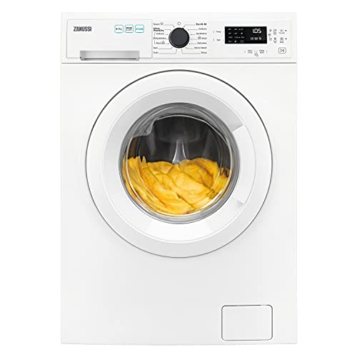 Zanussi ZWD86SB4PW Freestanding Washer Dryer 8Kg Wash Load, 4Kg Dry Load, 1600rpm - White