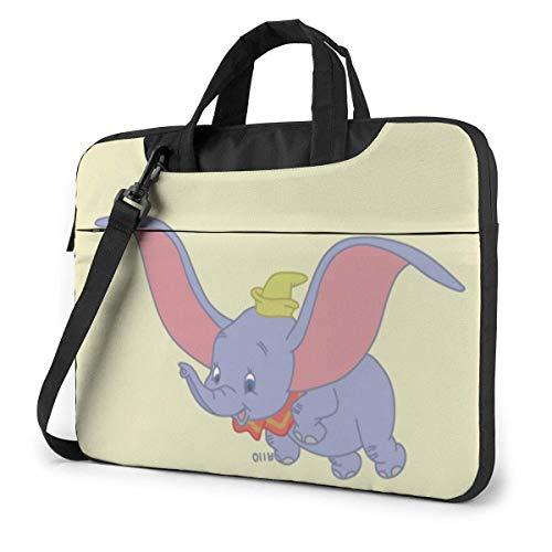15.6 Inch Laptop Shoulder Bag Dumbo Yellow Laptop Briefcase Shoulder Messenger Bag Case Sleeve