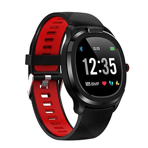 QINQIN 2020 IP68 waterdichte pedometer fitnesshorloge lichaamstemperatuur -Baby-thermometer sport Bluetooth foto ronde wijzerplaat mode smart-horloges