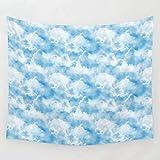 JIPMFYA Tapisserie céu rosa tapeçaria de Parede capa toalha Praia cobertor piquenique Yoga esteira decoração para casa