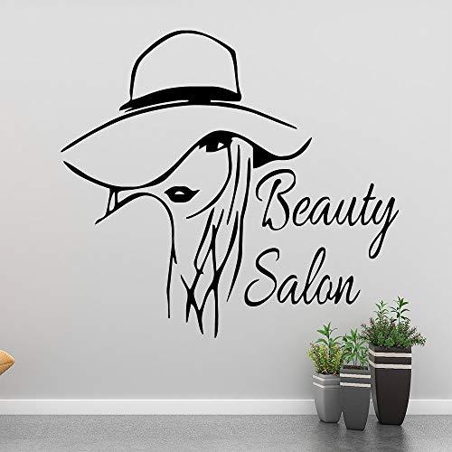 Yaonuli schoonheidssalon muursticker decoratie sticker hoofddecoratie waterdichte muursticker kamerdecoratie