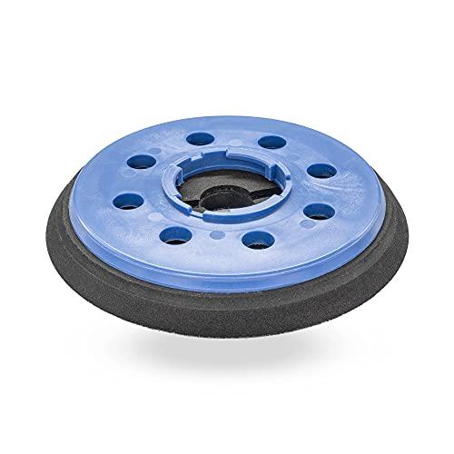 Plato lijador medio para Festool 150 FEQ FastFix disco de lijado de VELCRO Ø 150mm - con17-agujeros para la extracción de polvo - suave medio o duro - a su elección - DFS