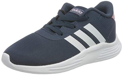 adidas LITE Racer 2.0 I Gymnastics Shoe, Crew Navy FTWR White Clear Lilac, 8.5 UK Child