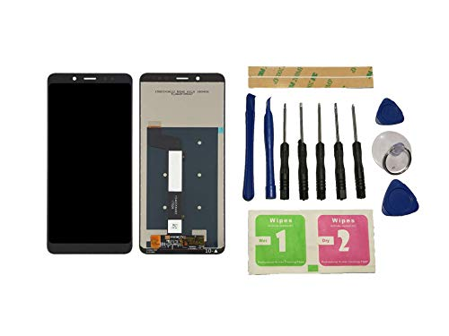 Flügel für Xiaomi Redmi Note 5 / Note 5 PRO MEG7S MEC7S MEE7S Bildschirm LCD Ersatzdisplay Schwarz Touchscreen Digitizer Display Glas Assembly (ohne Rahmen) Ersatzteile und Werkzeuge und Kleber