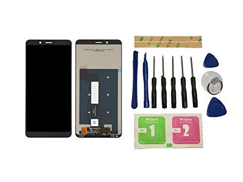 Flügel para Xiaomi Redmi Note 5 / Note 5 Pro MEG7S MEC7S MEE7S Pantalla LCD Pantalla Negro Táctil digitalizador Asamblea Pantalla (sin Marco) de Recambio & Herramientas