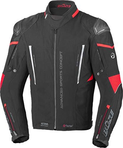 Büse Rocca Motorrad Textiljacke Schwarz/Rot 50