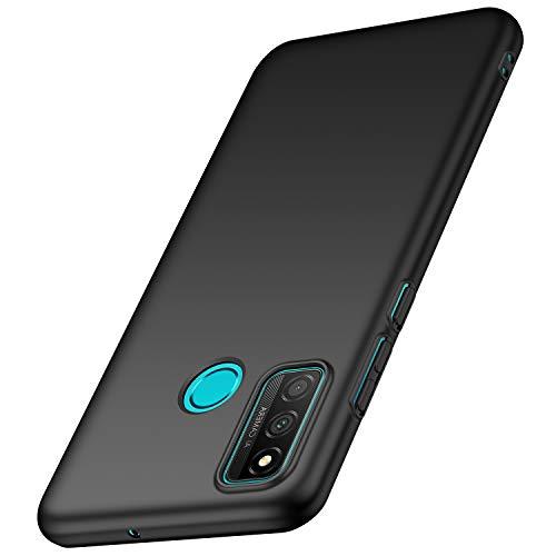 anccer Funda Huawei P Smart 2020, Ultra Slim Anti-Rasguño y Resistente Huellas Dactilares Totalmente Protectora Caso de Duro Cover Case para Huawei P Smart 2020 (Negro)