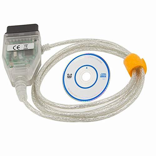 ZengBuks Hohe Leistung VCI J2534 für Toyota TIS Techstream Kabel Auto OBD2 Diangostic Kabel für Windows XP - Transparent
