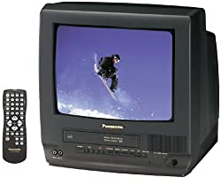 top rated Panasonic PV-C1322 13inch TV / VCR Combo, Black 2021