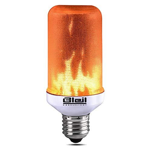 LED Flammleuchte E27 COB LED, Energieeffizientes, Flackerndes LED Licht, Bestens Geeignet Zu Weihnachten, Für Zuhause, Hotel, Bar, Eingangsbereich, Hofeinfahrten, Party und Dekoration