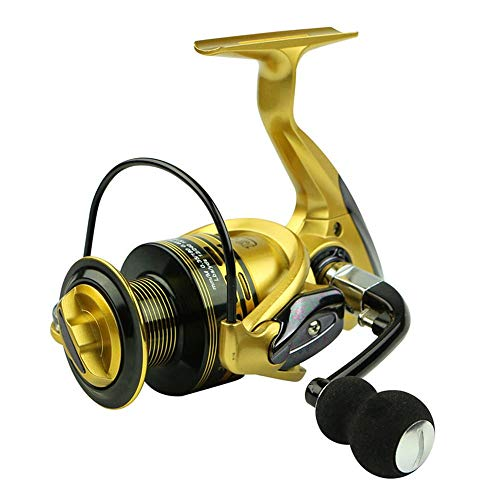 WSS Shoes Reel Giratorio Metal Pesca Spinning Carrete Relación 14BB XF1000-XF7000 5,1:...