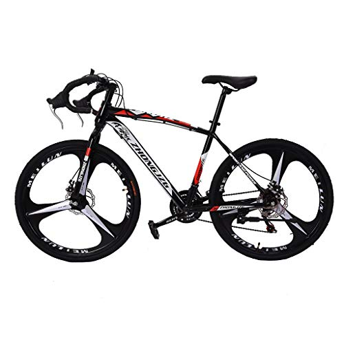 Giveyo Commuters Aluminum Full Suspension Road Bike 21 Speed Disc Brakes, 700c