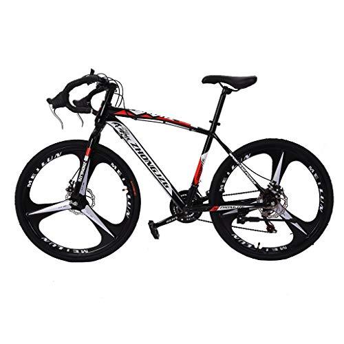 Youdw Commuters Aluminum Blike Mountain Bike Full Suspension Road Bike 21 Speed Disc Brakes, 700c