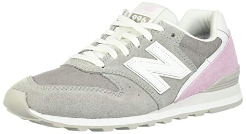 New Balance Damen 996v2 Turnschuh, Marmorkopf/Sauerstoff pink, 35 EU