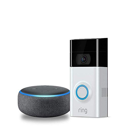 Ring Video Doorbell 2 with Echo Dot