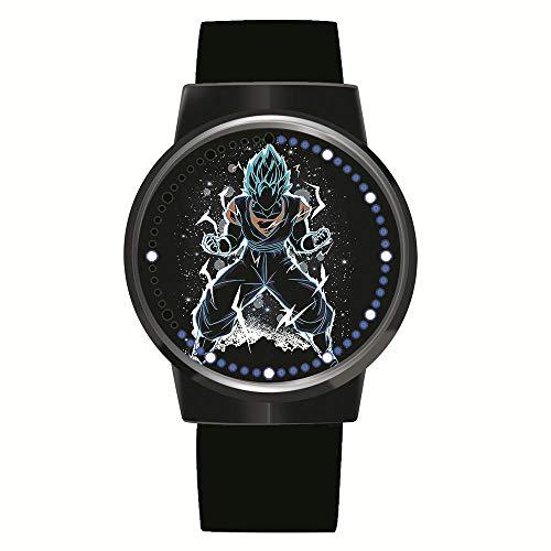 Anime Dragon Ball Z Goku Serie Reloj LED Touch Novedad Relojes Relojes Deportivos Reloj Personalizado Relojes Unisex Regalo de cumpleaños Edición de coleccionista
