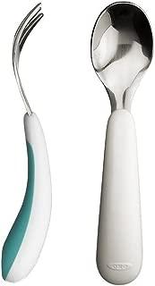 OXO Tot Training Fork & Spoon Set- Aqua