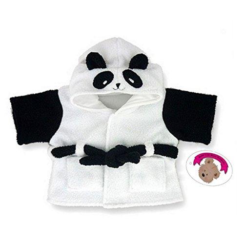Construire Votre Ours Armoire 38,1 cm Vêtements Fit Construire des Ours Panda Robe