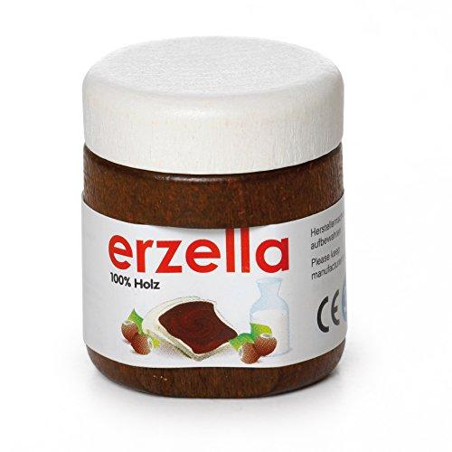 Erzi Holzware für das  Lebensmittelgeschäft, Schokoladencreme Erzella, Rollenspiele