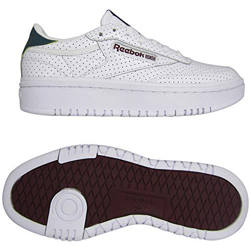 REEBOK CLASSIC CLUB C DOUBLE Sneakers dames Wit/Groen Lage sneakers