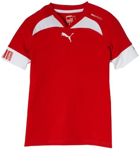 PUMA Kinder Trikot Evospeed Statement Indoor Shirt Red/White, 164